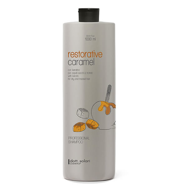 Professional Shampoo Restorative Caramel 1000 Ml