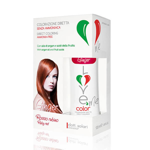 Love Me Color 100 Ml Ginger- Rosso Rubino