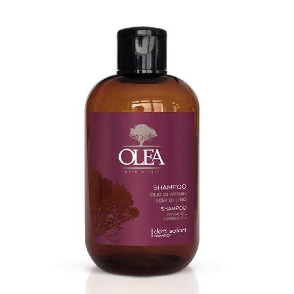 Shampoo olio argan e semi di lino dott solari