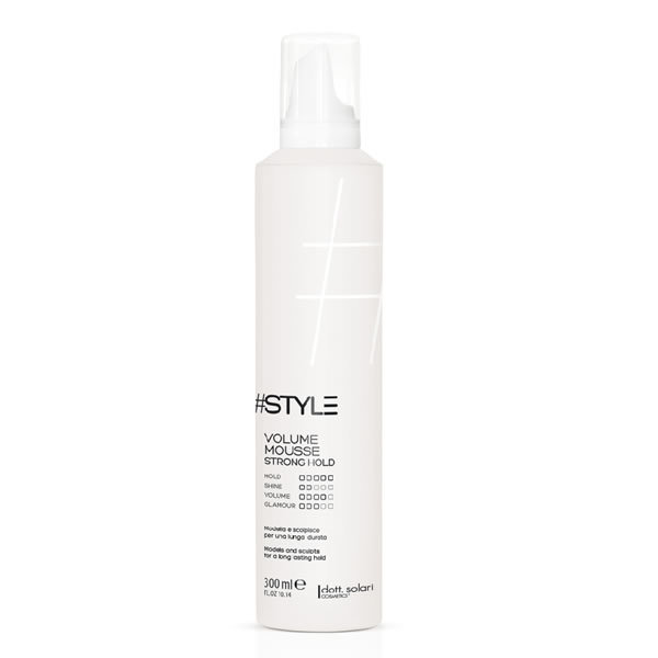 Volume Mousse  Strong Hold 300 Ml
