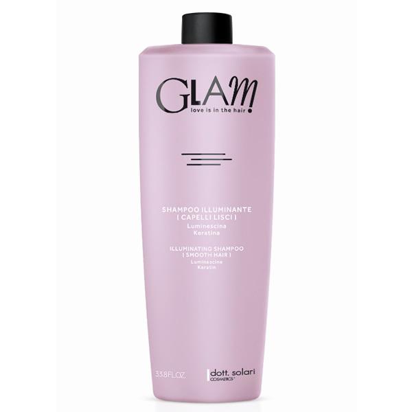 Glam Shampoo Illuminante Capelli Lisci 1000 Ml Dott Solari