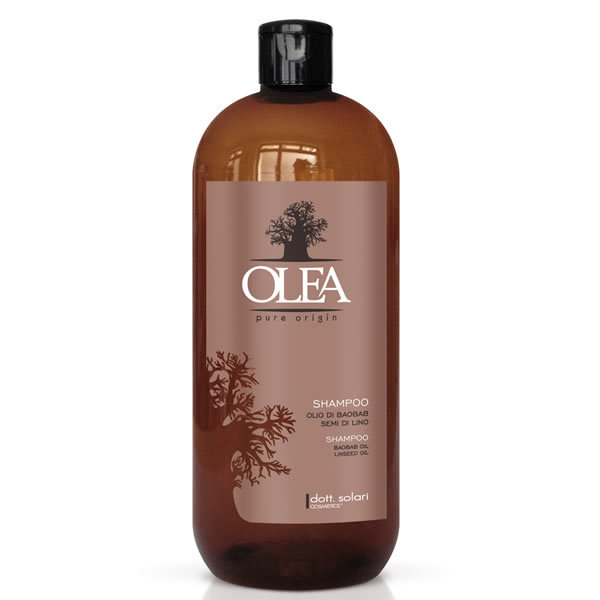 Shampoo olio baobab semi lino 1000ml dott solari