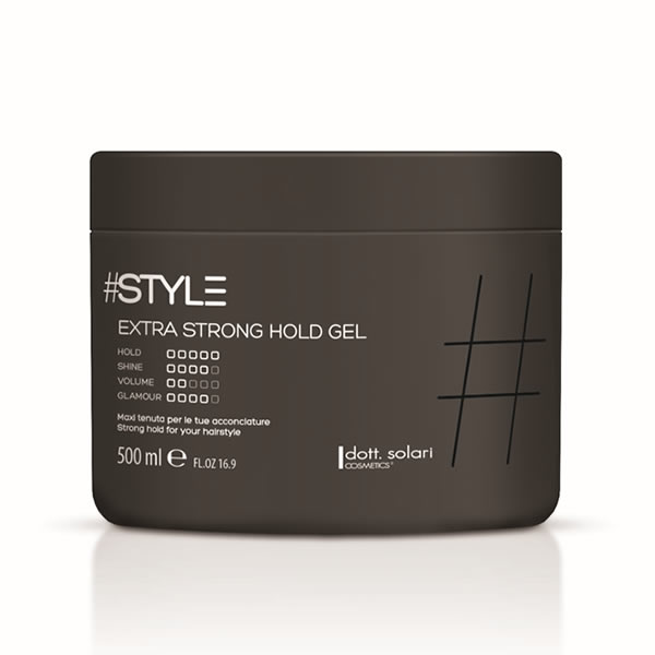 Extra Strong Hold Gel 500 Ml